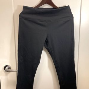 NWOT LOLE Leggings with reflecting strips on back